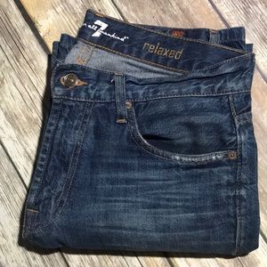 7 For All Mankind Jeans Relaxed 30 Short Straight